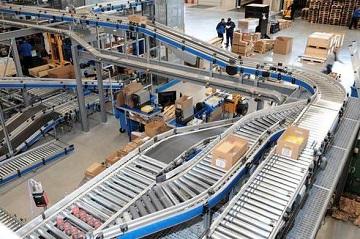 Băng chuyền tự động vận chuyển hàng hóa nhanh chóng