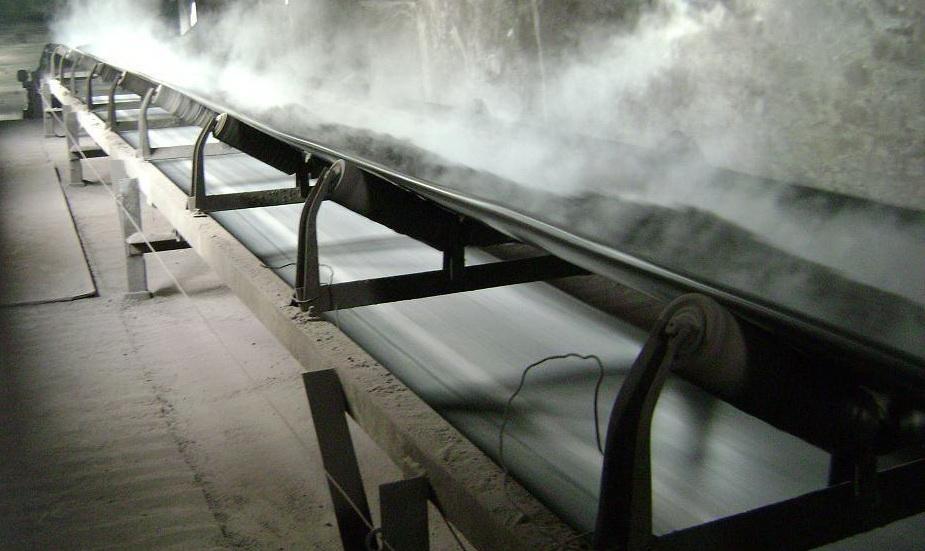 Băng tải cao su chịu nhiệt vận chuyển than đá có độ nóng cao