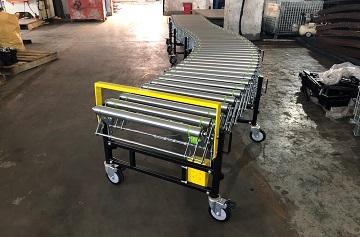 Băng tải con lăn không thể thiếu trong ngành công nghiệp