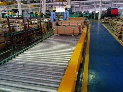 Băng tải con lăn sử dụng ngày càng phổ biến rộng rãi trong ngành công nghiệp