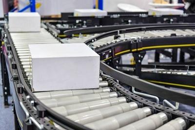 Băng tải con lăn trong chuỗi cung ứng