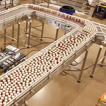 Băng tải khung nhôm định hình độ bền cao phù hợp với ngành sản xuất