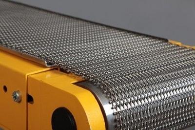 Băng tải lưới inox trong các ngành công nghiệp