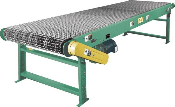 Băng tải lưới inox trong chế biến tôm