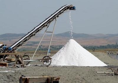 Băng tải muối