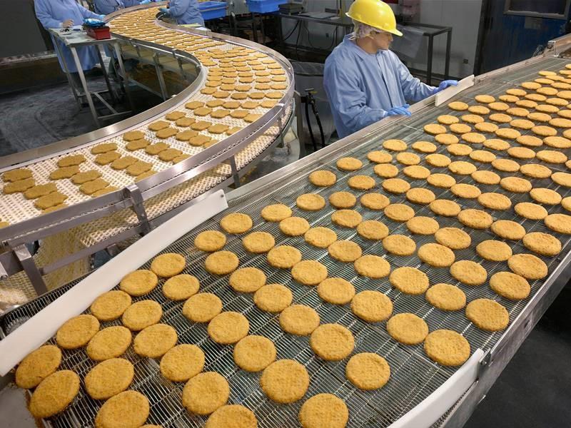 Băng tải nướng bánh quy