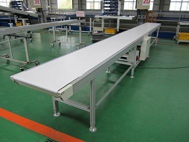 Băng tải PVC trắng được doanh nghiệp ưu tiên sử dụng