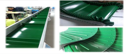Băng tải PVC và băng tải PU trong công nghiệp chế biến thực phẩm