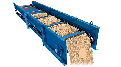 Băng tải rung đảm bảo xử lý vật liệu hiệu quả đa chức năng