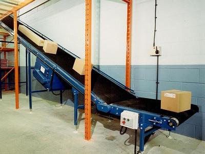 Băng tải vận chuyển được sử dụng hầu hết trong  sản xuất
