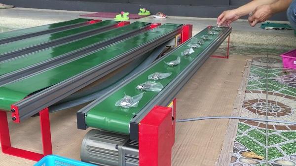 Các loại băng tải được sử dụng trong công nghiệp