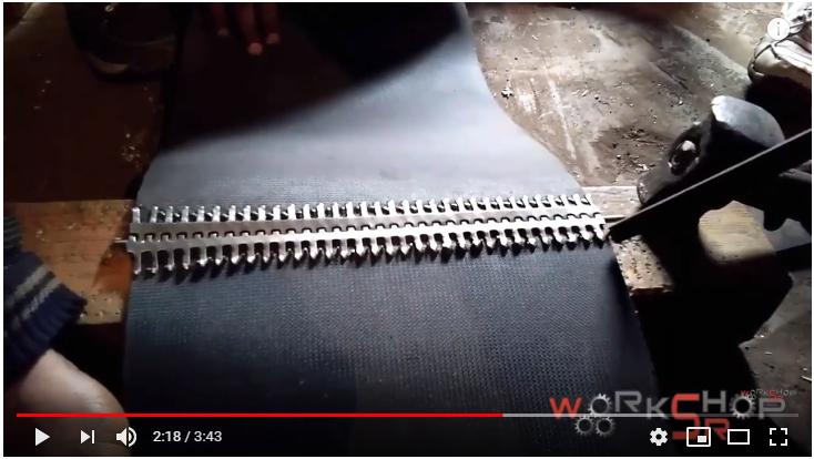 Cách lắp đặt dây đai băng tải