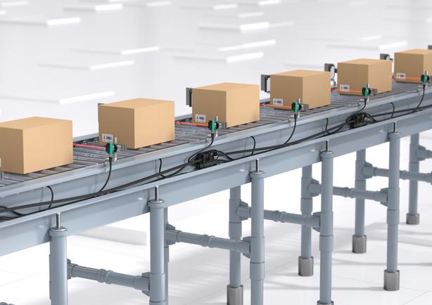 Cách sử dụng băng tải để tính công thái học cho kho hàng