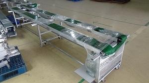 Cấu tạo và ứng dụng của băng tải đôi dán gân PVC