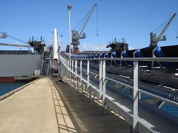 Giới thiệu về băng tải cầu cảng