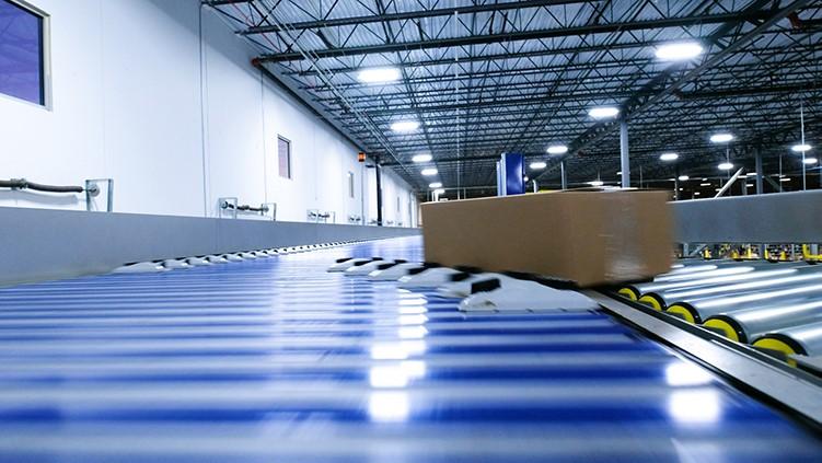Hệ thống băng tải phân loại chính xác và hiệu quả trong vận chuyển