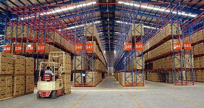 Hệ thống băng tải trong các kho hàng
