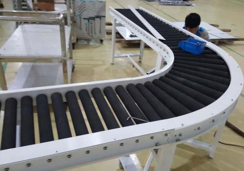 Quy trình sản xuất băng tải con lăn
