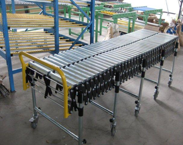 Sản xuất con lăn cho hệ thống băng tải con lăn