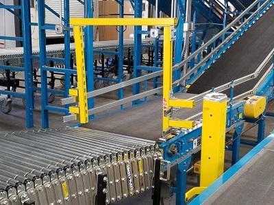 Sử dụng băng tải vận chuyển hàng hóa tăng hiệu quả công việc