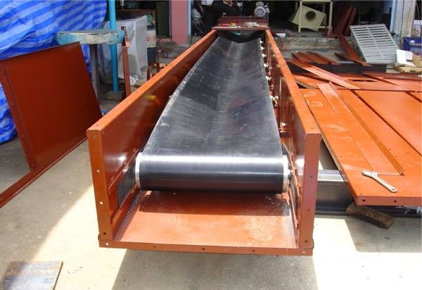 Thi công băng tải cao su chịu nhiệt cho Công ty CP Thiết Bị Nhà Bếp VINA và Công ty TNHH Công Nghệ Sơn Hoàn Hảo