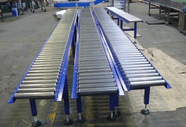 Thi công băng tải con lăn cho Công ty TNHH Công Nghệ Sơn Hoàn Hảo và Công Ty TNHH  CP SX – TM Thiết bị điện Miền Nam