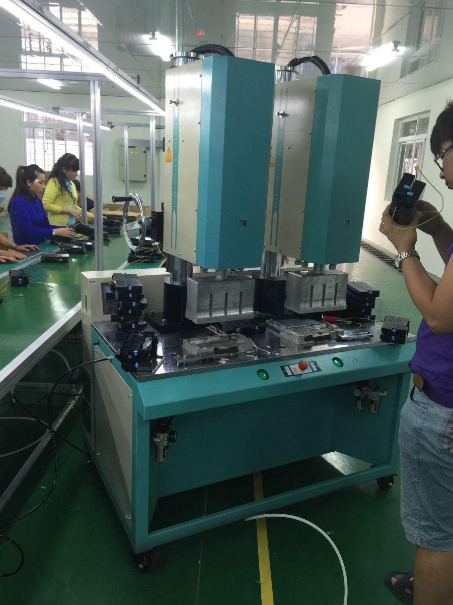 Thi công băng tải nhôm cho công ty Sóng Siêu Âm Việt