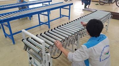 Thi công con lăn inox cho công ty Navavina, công ty Nguyễn Lưu Gia và Anh Quý