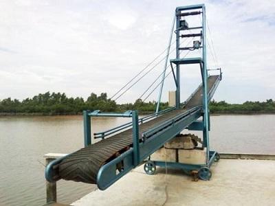 Thiết kế của băng tải cầu cảng