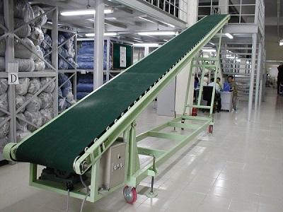 Ứng dụng băng tải cao su trong ngành xây dựng