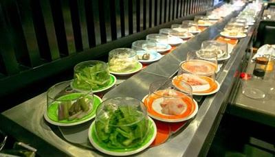Ứng dụng công nghệ băng tải hiện đại phục vụ nhu cầu ăn uống ở Nhật